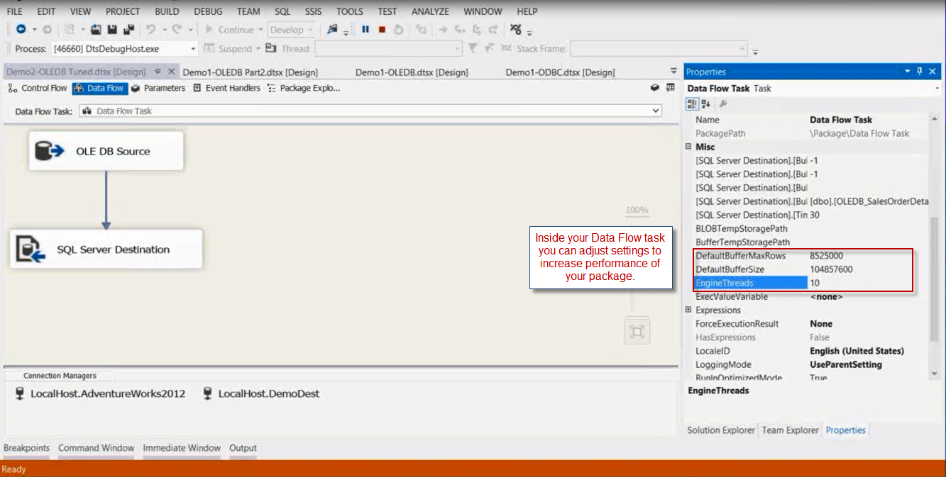 Webinar Follow Up - Help, My SSIS packages need a performance tune up!