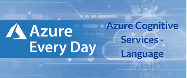 Azure Cognitive Services - Language