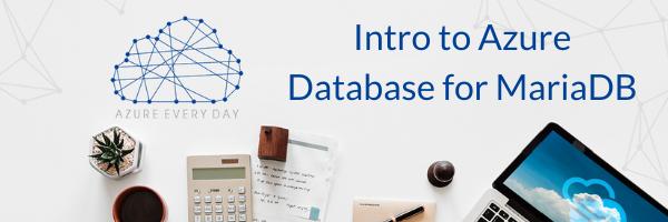Azure Database for MariaDB (1)