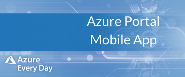 Azure Portal Mobile App