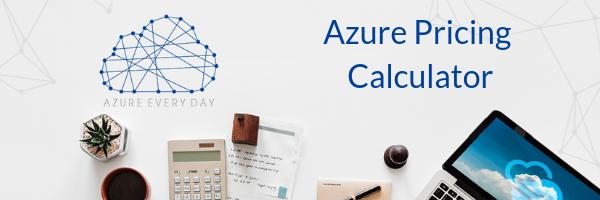 Azure Pricing Calculator