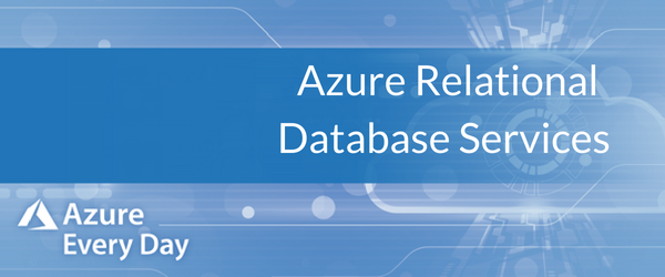 Azure Relational Database Services