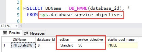 Database Properties in Visual Studio Database Projects