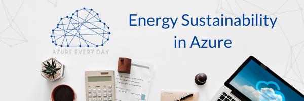 Energy Sustainabilty in Azure