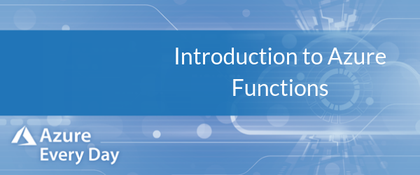 Intro to Azure Functions