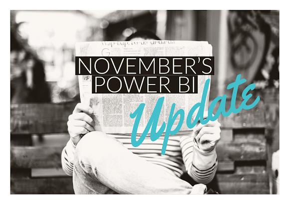 Nov 2020 Power Bi Update