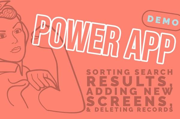 Power App Session 4