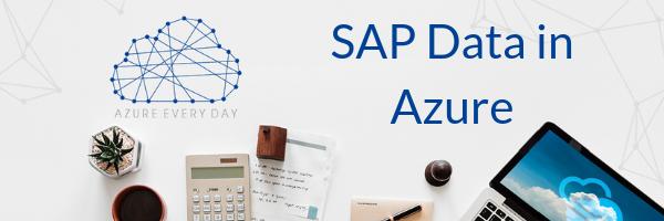 SAP Data in Azure
