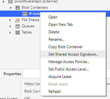 get-shared-access-container