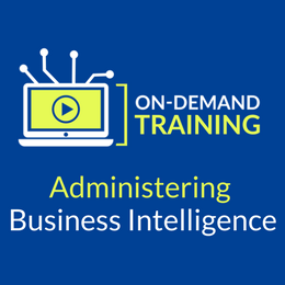 Announcing Our New Course - Administering Business Intelligence
