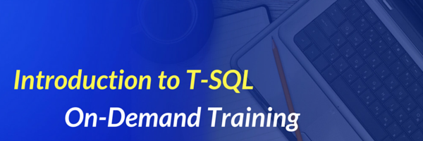 Introduction to T-SQL Training