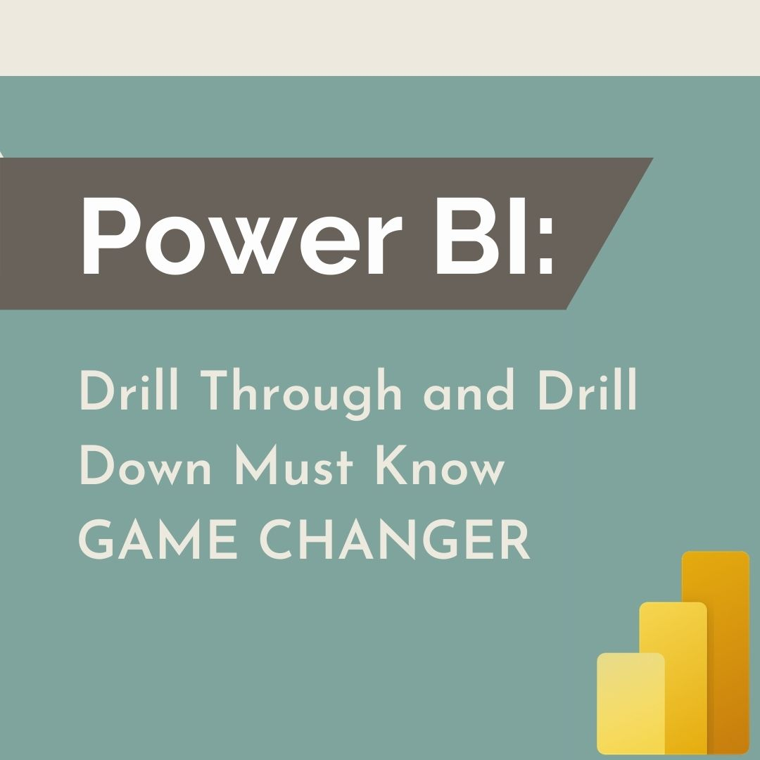 Power BI: Drill Through and Drill Down Must Know GAME CHANGER