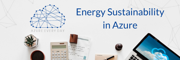 Energy Sustainability in Azure