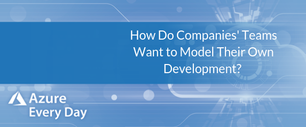 How Do Companies' Teams Want to Model Their Own Development?