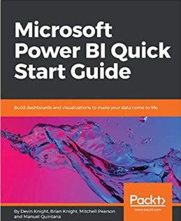 Announcing the Release of Microsoft Power BI Quick Start Guide