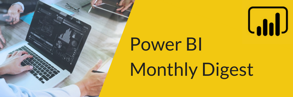 Power BI Monthly Digest - November 2018