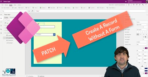 Create A Record Without A Form In Power Apps Using PATCH