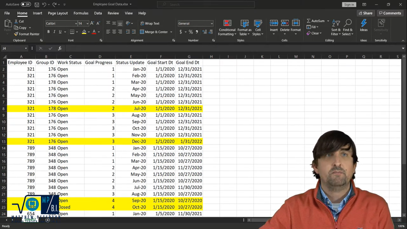 Remove Duplicates And Keep Most Recent Records in Power BI