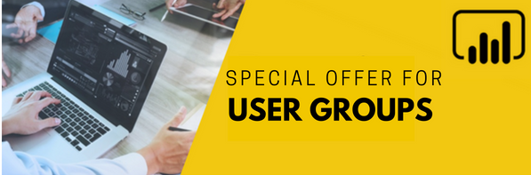 A Special Offer for User Groups